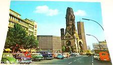 VW T1 Gedächtniskirche neu und alt Berlin Ansichtskarte 50er 60er Jahre 14 å