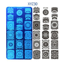 Ornamento Mandala Para Uñas Stamping Placa Placas De Diseños De Imagen del sello vendedor de Reino Unido