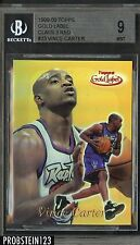1999-00 Topps Gold Label Class 3 Red Vince Carter  #12/25 BGS 9 MINT
