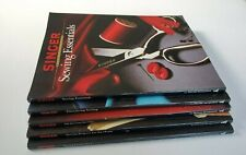 Lot of 5 Singer Sewing Reference Library Books Essentials, Secrets, Time Saving