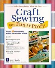 Craft Sewing For Fun & Profit-ExLibrary