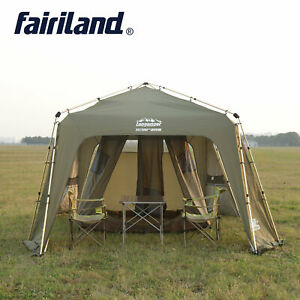 Outdoor Big Instant Quick Open 12 Person Sun Shelter Travel Hiking Camping Tent