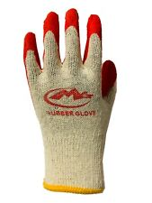 Wholesale Red Latex Rubber Palm Coated Work Safety Gloves 300 Pairs