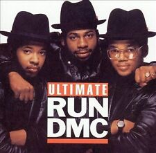 RUN DMC Ultimate Run DMC CD + DVD hits comp w/ music videos hip-hop rap Arista