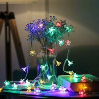 Eg _ Coloré Sakura Cordons LED Lampe Noël Maison Mariage Fête Décor 3