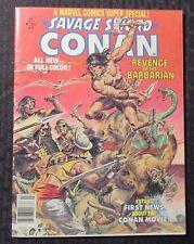 1977 Marvel Super Special SAVAGE SWORD OF CONAN #2 FN+ 6.5