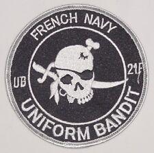 Aufnäher Patch Abzeichen French Navy - Uniform Bandit - UB 21F ..........A2149K