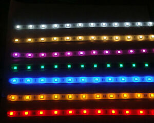 LED Strip Light Set For RC Model Car Plane Helicopter - 2 Power Options RTR