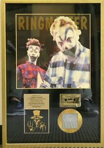 Ringmaster Insane Clown Posse Gold CD Cassette Album RIAA Certification Framed