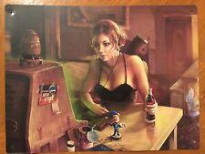 Tin Sign Vintage Nuka Cola New Vegas Girl Fallout