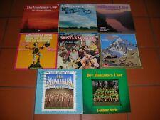 """""""12"""" - LP-Sammlung - DER MONTANARA CHOR - 7 LPs und 1 DOLP - near MINT !!!"""