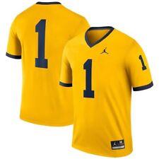 acdfbd8b0 Nike Jordan Brand Michigan Wolverines Limited Maize STITCHED Jersey XL  135  NWT