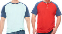 NWT New Men's LT 2XL 3XL Foundry Color Block t shirt big and tall blue green