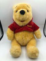 Official Winnie The Pooh Mattel 1997 Disney Plush Stuffed Toy Animal Teddy Bear