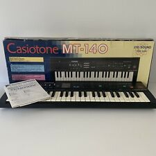 Casio Casiotone MT-140 Electronic Keyboard - 210 Sound Tone Bank - Vintage