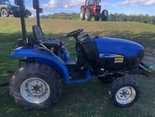 More details for new holland tc24d compact tractor 2012 low hours kubota john deere massey jcb