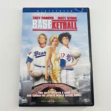 Baseketball Standard Dvd 1998 Widescreen Comedy Matt Stone Trey Parker