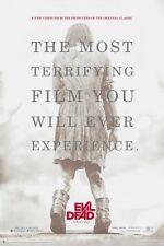 EVIL DEAD 2013 MOVIE POSTER ~ TERRIFYING 24x36 Fede Alvarez Jane Levy Zombie The