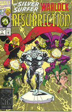 Silver Surfer/Warlock: Resurrection #1-4  (VF/NM 1st Prints) (Complete Series)