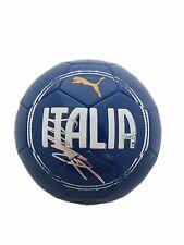 "Mario Balotelli ""Italia"" Puma Regulation Size Signed Soccer Ball Jsa"