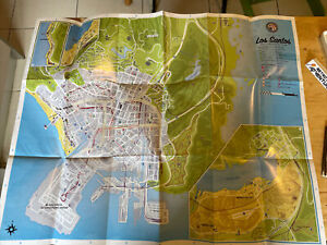 MANUAL ONLY - Large Los Santos Map - Grand Theft Auto - English