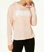NWT Women's Pink PUMA Urban Light Cover Up Hoodie Size Small S