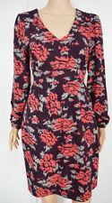 Vestiti da donna floreale tunica lunghezza al ginocchio