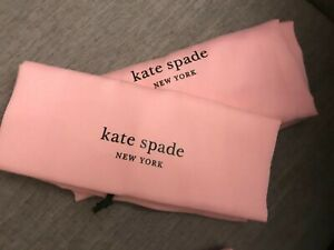 "❤️ 2 New Kate Spade 19""X 17"" Handbag Bag Drawstring Dust Bag"
