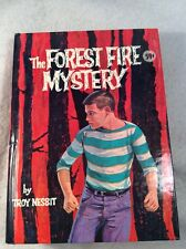 THE FOREST FIRE MYSTERY by Troy Nesbit -  1962 hardcover book