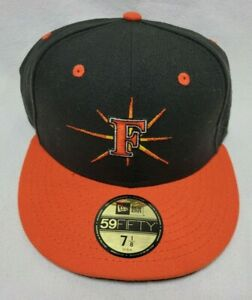 """Frederick Keys Minor League Fitted 7 1/8"""" New Era 59FIFTY Home Hat Cap Baltimore"""