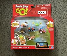 Hasbro Angry Birds GO DELUXE MULTI-PACK Teleport Karts Into The APP Telepods New
