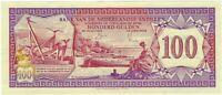 Netherlands Antilles, 1981 100 Gulden P-19  ((UNC))