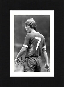 8X6 Mount KENNY DALGLISH Signed PHOTO Ready To Frame LIVERPOOL Soccer