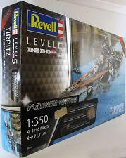 Revell 1:350 05160 Tirpitz Edición Platino kit modelo de barco