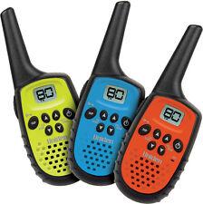 2 X UNIDEN UH35-3 0.5W 1/2 UHF HANDHELD RADIOS 1/2 TRIPLE SET COMPACT 6 RADIOS