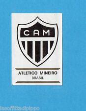 FOOTBALL CLUBS-PANINI 1975-Figurina n.29- ATLETICO MINEIRO - SCUDETTO  -Rec