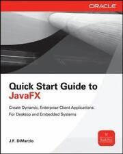 Quick Start Guide to JavaFX Programming & Web Dev - OMG