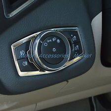 Chrome Stainless Steel Light Switch Trim For Ford Mustang F150 Escape Fusion