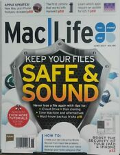 Mac Life June 2017 Keep Your Files Safe & Sound iPhone iPad FREE SHIPPING sb