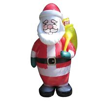 Frito Lay Inflatable Santa Claus Figurine Lay's Doritos Tostitos 6 Feet Tall