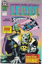 L.E.G,I.O.N.  #1 ANNUAL 1990 -G/S SUPERMAN 68pgs ''LOBO'' -BRAINIAC GRANT/FERN..