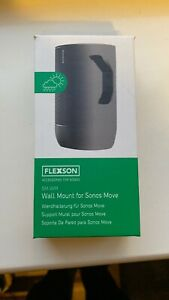 Flexson Wall Speaker Mount for Sonos Move - Black Single