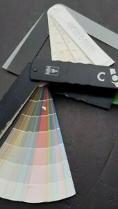 Benjamin Moore Paint Chips Samples Swatches Sherwin Williams Fan Deck