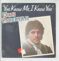 "45 tours Dan PERLMAN Vinyl SP 7"" YOU KNOW ME I KNOW YOU - FLARENASCH 721618"