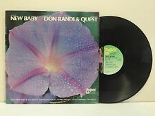 Don Randi And Quest – New Baby on Sheffield Lab LAB 12 Direct to Disc Ltd Edtn