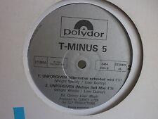 """MAXI 12"""" T MINUS 5 Unforgiven 2454"""