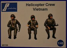 1:48 U.S. crew for Huey Blackhawk helicopter Pj Production resin
