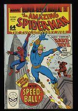 Amazing Spider-Man Annual #22 NM- 9.2 1st App. Speedball