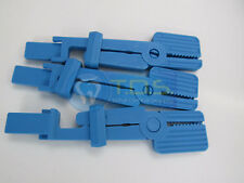 Dental SNAP A-Ray X-Ray Film Holder 3 Pcs BLUE Color AUTOCLAVABLE