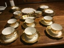 Ls&S Limoges 22 pieces the 2 large plates are Coldport A.D. 1780,